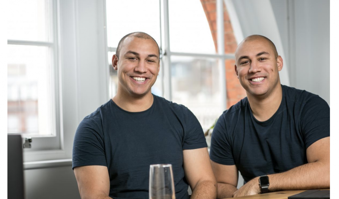 Marshmallow founders Oliver and Alexander Kent-Braham. Credit: Marshmallow.